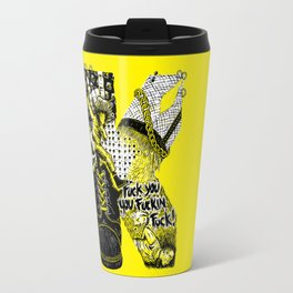 K – Punk Travel Mug