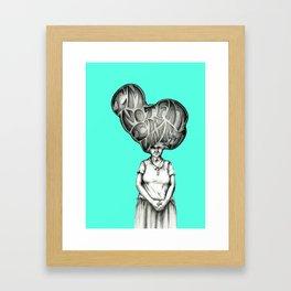 I'm not fat, I'm unfit Framed Art Print