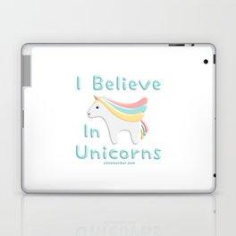 I Believe In Unicorns Laptop & iPad Skin
