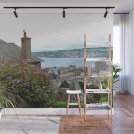 House on a Hilltop Wall Mural