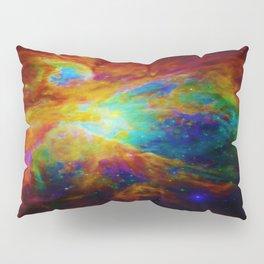 Orion NEBula  : Colorful Galaxy Pillow Sham