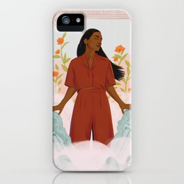 TIME'S UP by Louisa Cannell iPhone Case