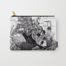 Land of the Sleeping Giant (ink drawing) Carry-All Pouch