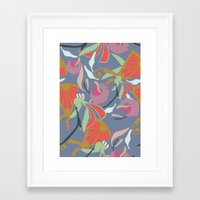 oriental Framed Art Prints featuring Oriental  by Laura Sturdy