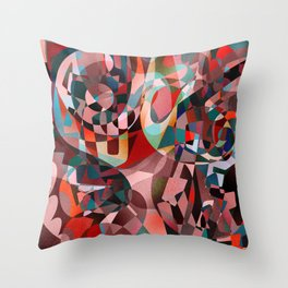 Foreshadowed Throw Pillow