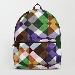 Retro Box Mosaic Small Backpack