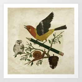 Design Reunion Series: Bird Art Print