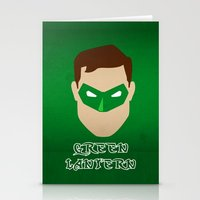 green lantern Stationery Cards featuring Green Lantern by Sport_Designs