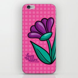 Flower - Laura Wayne Design iPhone Skin