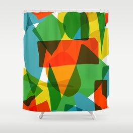 Super Colors Shower Curtain