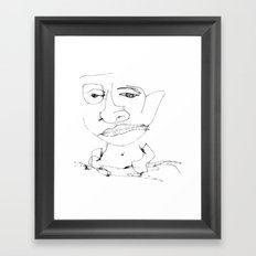Th boy Framed Art Print