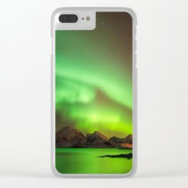 Aurora Borealis 4 Clear iPhone Case