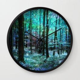 Fantasy Forest Wall Clock