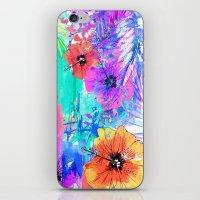 hawaiian iPhone & iPod Skins featuring Hawaiian Heat by Holly Sharpe