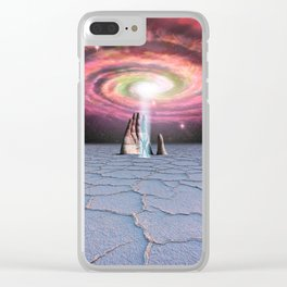 The Hand Of Stone Clear iPhone Case