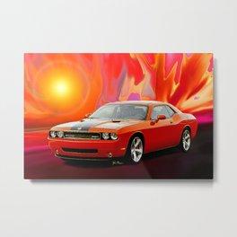 Challenger SRT Metal Print