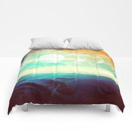 Lunar Phase Beach Comforters