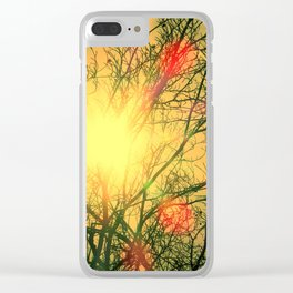 Sunny Beech Clear iPhone Case