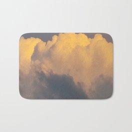 Walking on cloud 9 Bath Mat