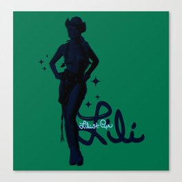 """""""Signed Lili"""" by One Trick Pony Canvas Print"""