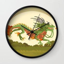 traditional chinese dragon Wall Clock