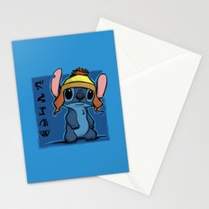 Shiny and Blue Stationery Cards