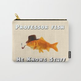 Professor Fish Carry-All Pouch