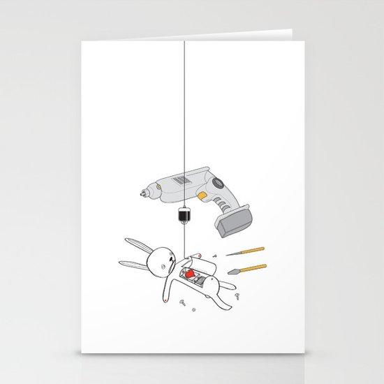 RABBIT FIX (SAVED RABBIT SERIES 2) Stationery Cards