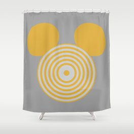 Grid Mouse 1.0 (Clu Variant) Shower Curtain