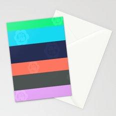 Miami Stripe Stationery Cards