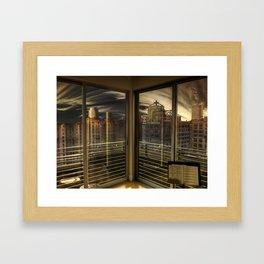 The Trancendental Perception Framed Art Print