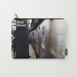 Wallstreet Subway Carry-All Pouch