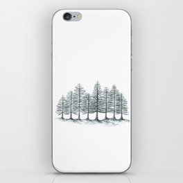 Old Pines  iPhone Skin
