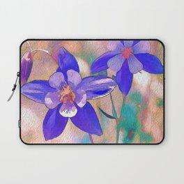 Colorado Columbine Flower Laptop Sleeve