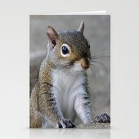squirrel Stationery Cards featuring Squirrel by Charlene McCoy