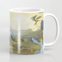 skyrim Mugs featuring Skyrim by mixedlies