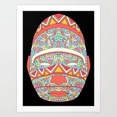 The Shaman 1 Art Print
