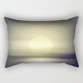 Sky and horizon in the twilight. Rectangular Pillow