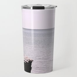 Beach Pink Travel Mug