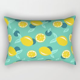 Lemon dots #society6 #decor #buyart Rectangular Pillow