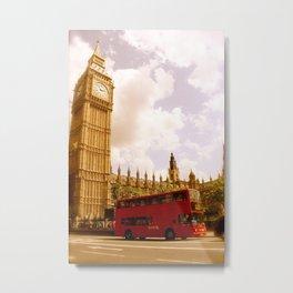 Classic Scenic London Metal Print