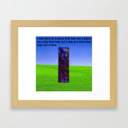 3D6 Framed Art Print