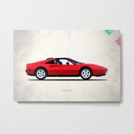 The 328 GTS 1987 Metal Print