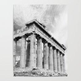 Mystical Parthenon Poster