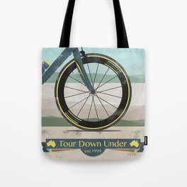Tour Down Under Bike Race Tote Bag