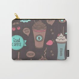 coffee love; Carry-All Pouch