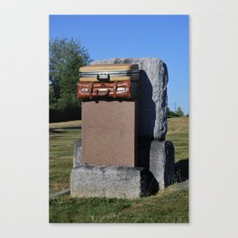 Everyone has some baggage in their life! Canvas Print