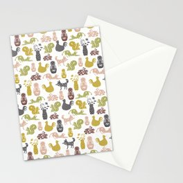 Country Silhouettes Stationery Cards