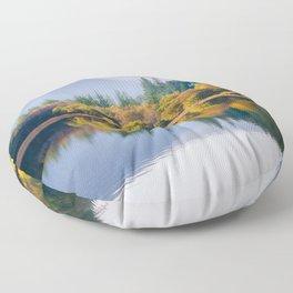 Glendalough Upper lake - Ireland (RR 172) Floor Pillow