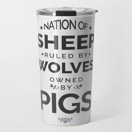 Nation Of Sheep Travel Mug